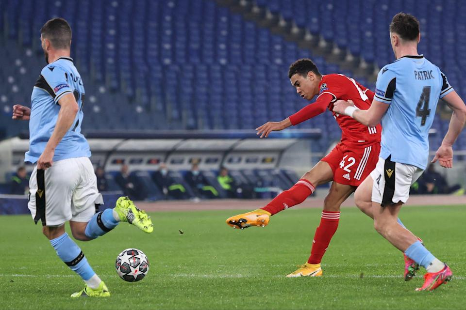 <p>Musiala was on target for Bayern</p> (Getty Images)
