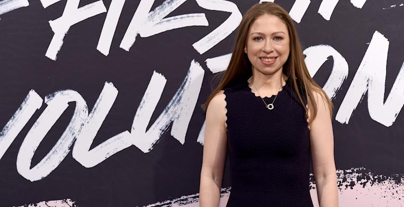 Chelsea Clinton has her say about Donald Trump Jr.'s trip to India.