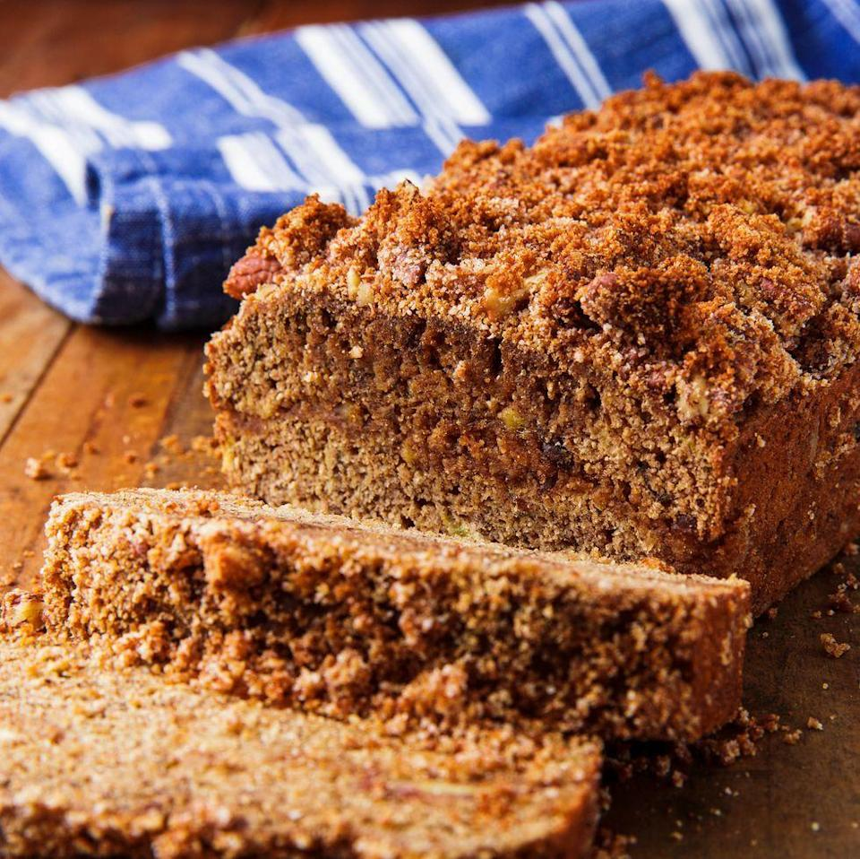 """<p>If you love baking with coconut flour, you know one thing: It can produce some very dry baked goods. This coconut flour banana bread is totally moist</p><p>Get the <a href=""""https://www.delish.com/uk/cooking/recipes/a34726386/paleo-coconut-flour-banana-bread-recipe/"""" rel=""""nofollow noopener"""" target=""""_blank"""" data-ylk=""""slk:Coconut Flour Banana Bread"""" class=""""link rapid-noclick-resp"""">Coconut Flour Banana Bread</a> recipe.</p>"""