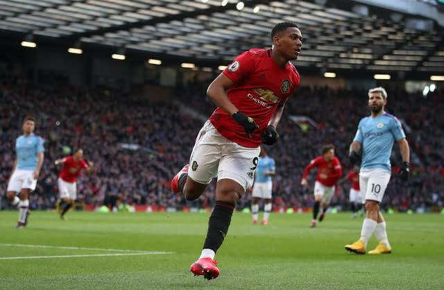 Manchester United's victory over Manchester City was their last Premier League game (Nick Potts/PA)