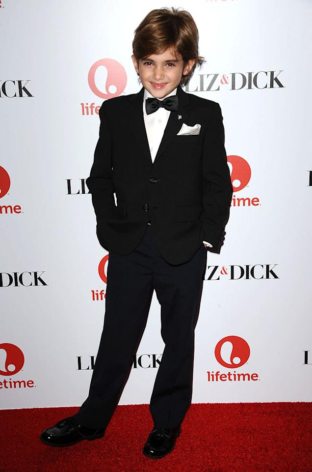 "Trevor Thompson attends the premiere of Lifetime's ""Liz & Dick"" at the Beverly Hills Hotel on November 20, 2012 in Beverly Hills, California."