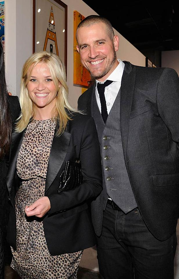 """On March 26, Reese Witherspoon, who famously divorced fellow actor Ryan Phillippe in 2006, took the plunge again when she swapped vows with Hollywood agent Jim Toth at her Ojai, California, ranch. As fans might have guessed, Reese opted for a traditional wedding in which she wore a dress designed by Monique Lhuillier and walked down the aisle to the tune of """"Here Comes the Bride."""""""