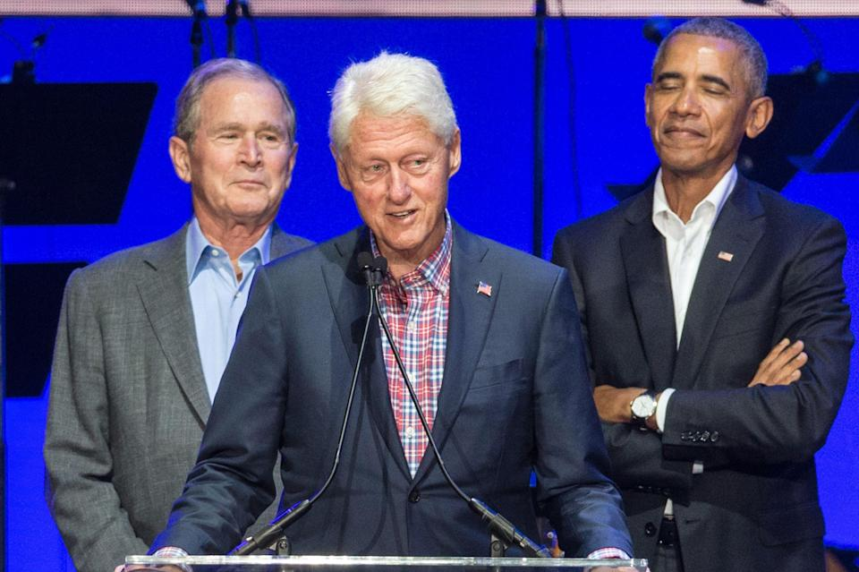 <p>The three former presidents will take the vaccine</p> (AFP via Getty Images)