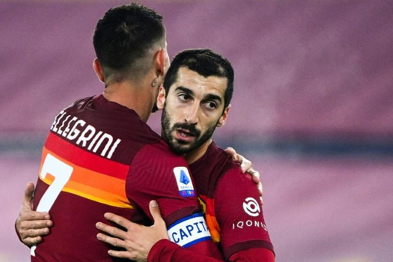 Armenian midfielder Henrikh Mkhitaryan signed a permanent deal with Roma this season from Arsenal.
