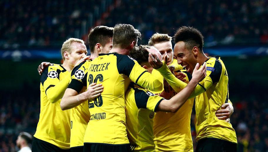 <p><strong>Dortmund have beaten all-time group stages goals record this year</strong></p> <br /><p>Though young, Borussia Dortmund's team has got more than enough talent and watching them attacking is a blessing. The combination of Dembélé's youth and arrogance, Aubameyang's pace and finishing and Reus' talent and experience make a deadly cocktail.</p> <br /><p>So deadly in fact that Dortmund equalled, with their late equaliser in Bernabeu in the last game of the group stages (2-2), the Champions League's all-time group stages goal record with 21, surpassing Manchester United's 20 in 1998/99.</p> <br /><p>It was a record that had already been equalled three times, including by FC Barcelona only 24 hours before Dortmund.</p> <br /><p>It was a record-breaking performance they owe to two crazy games against Legia Warsaw: an away 6-0 win on the first game of the group stages and a historic 8-4 home win on week 5.</p>