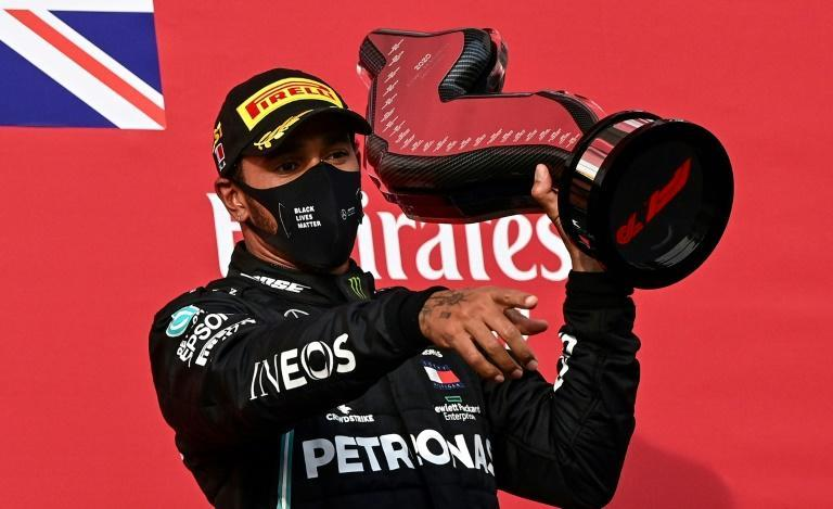 Lewis Hamilton is on course to retain his world title this year