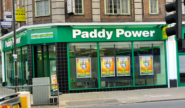 Paddy Power betting shop in England. (Wikimedia Commons)