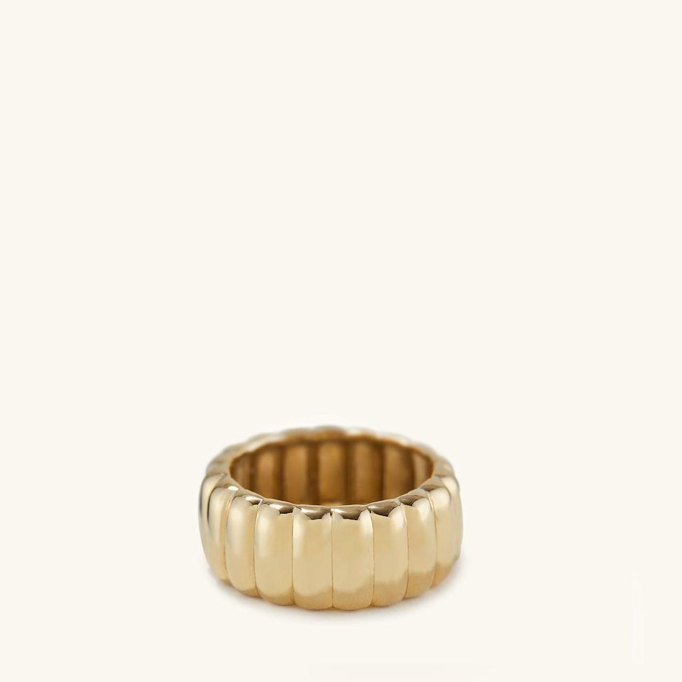 <p>You'll want to wear this chic <span>Charlotte Bold Ring</span> ($35) all the time.</p>