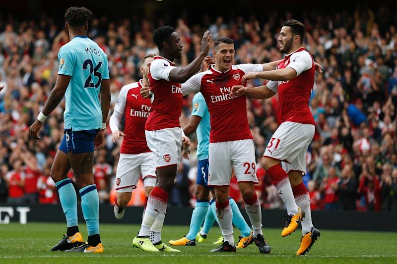 Arsenal 3-0 Bournemouth: Welbeck brace and Lacazette fire Gunners