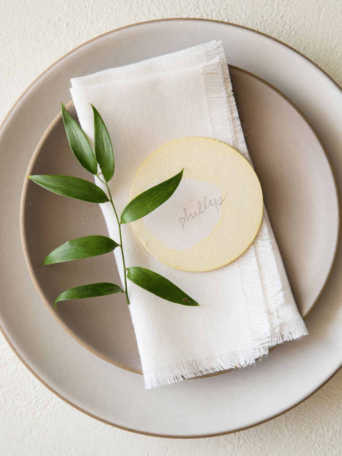 "<p>You don't need a ton of fancy crafting tools to make something truly beautiful for your guests this year. These place cards are simple, special, and thoughtful. </p><p><strong>Get the tutorial at <a href=""https://www.spoonforkbacon.com/diy-place-cards/"" rel=""nofollow noopener"" target=""_blank"" data-ylk=""slk:Spoon Fork Bacon"" class=""link rapid-noclick-resp"">Spoon Fork Bacon</a>. </strong></p><p><strong><a class=""link rapid-noclick-resp"" href=""https://www.amazon.com/Inches-Letter-Sheets-Smooth-216gsm/dp/B00RU6IGAS?tag=syn-yahoo-20&ascsubtag=%5Bartid%7C10050.g.1538%5Bsrc%7Cyahoo-us"" rel=""nofollow noopener"" target=""_blank"" data-ylk=""slk:SHOP WHITE CARD STOCK"">SHOP WHITE CARD STOCK</a><br></strong></p>"