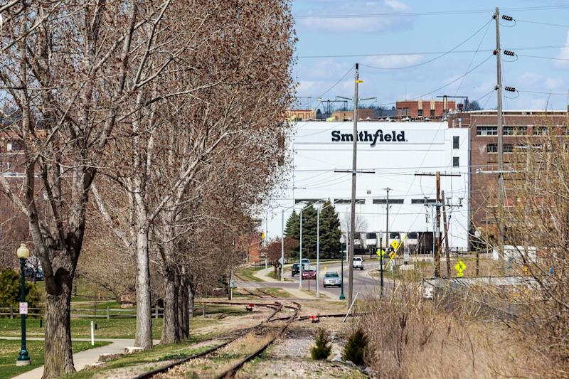 The Smithfield Foods pork processing plant