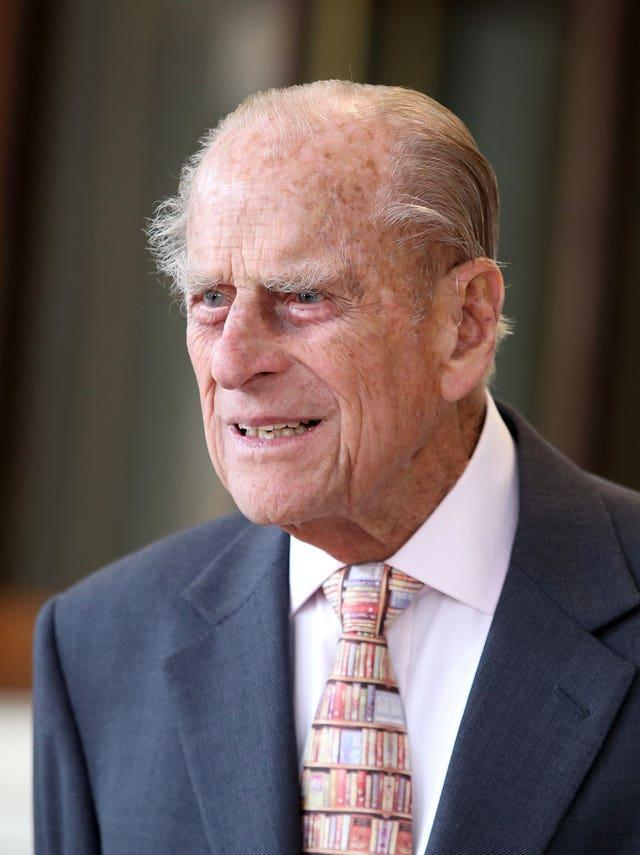 The Duke of Edinburgh (Chris Jackson/PA) hospital