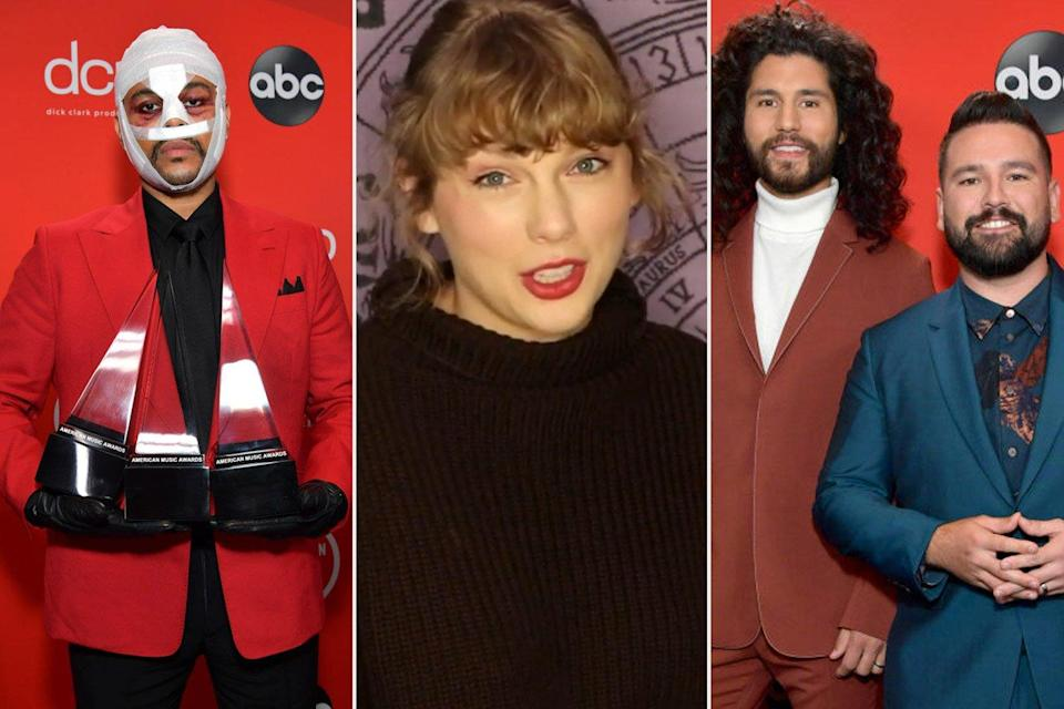 American Music Awards 2020: See the Complete List of Winners!