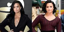 <p>Demi is no stranger to the breakup chop. After ending her almost six-year relationship with Wilmer Valderrama, she chopped off her signature long hair into a layered bob. </p>
