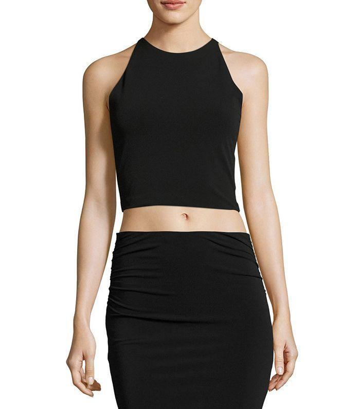 Black is a flattering color during a hot music festival.