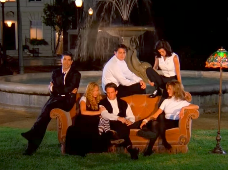 The original casting couch. Source: NBC