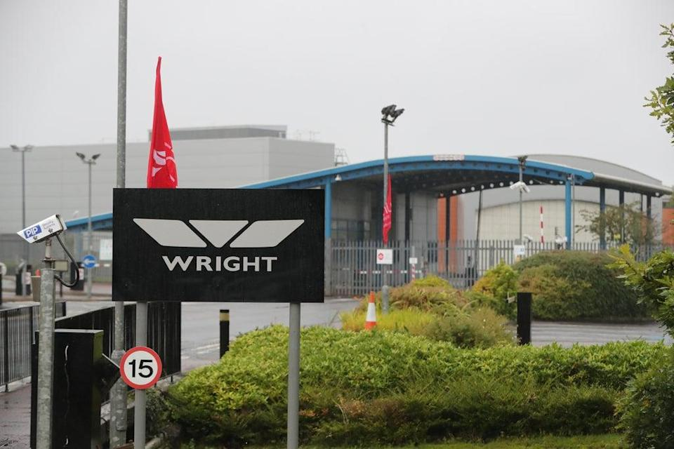 The Wrightbus plant in Ballymena, where up to 300 jobs are to be created (Niall Carson/PA) (PA Archive)