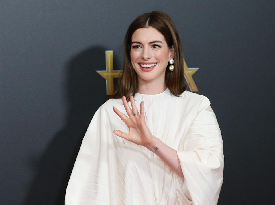 Anne Hathaway wants an informal name change. (Photo: Michael Tran/FilmMagic,)