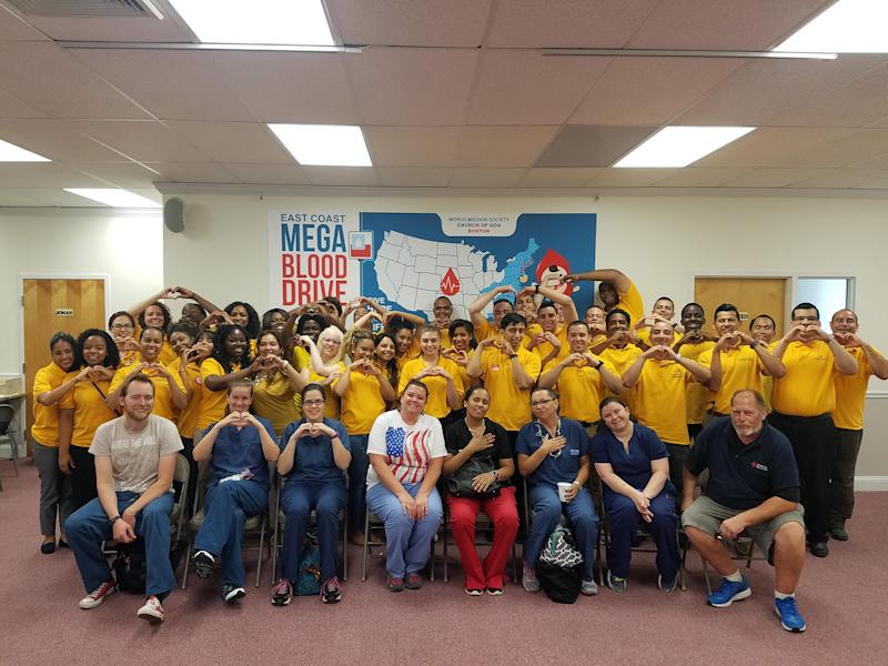 The East Coast Mega Blood Drive 2016. (Photo credit: World Mission Society Church of God)