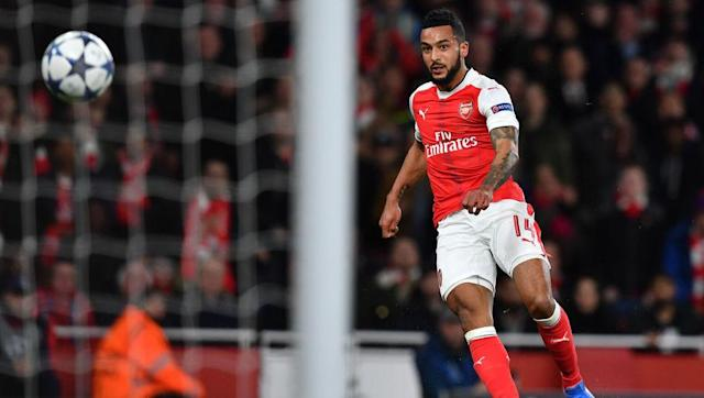 <p>Goals from Jason Roberts, Mikele Leigertwood, Noel Hunt, and an own goal from Laurent Koscielny put Reading 4-0 up after just 35 minutes in this League Cup classic.</p> <br><p>Four Arsenal second half goals from Theo Walcott (two), Olivier Giroud and Koscielny forced the tie into extra time in which the Gunners took an early lead through Marouane Chamakh. Reading made it 5-5 thanks to Pavel Pogrebnyak.</p> <br><p>Reading couldn't hold on, however, as Arsenal scored twice in the last minute of extra time. Walcott completed his hat-trick and Chamakh bagged himself a brace.</p>