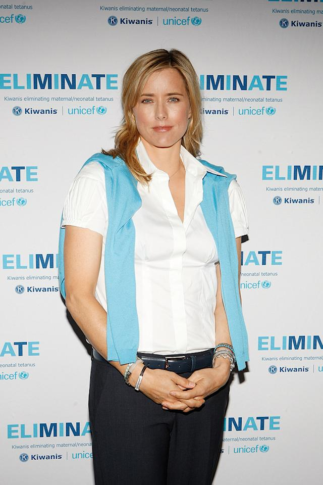 Tea Leoni attends the 95th Annual Kiwanis International Convention June 24, 2010 in Las Vegas, Nevada