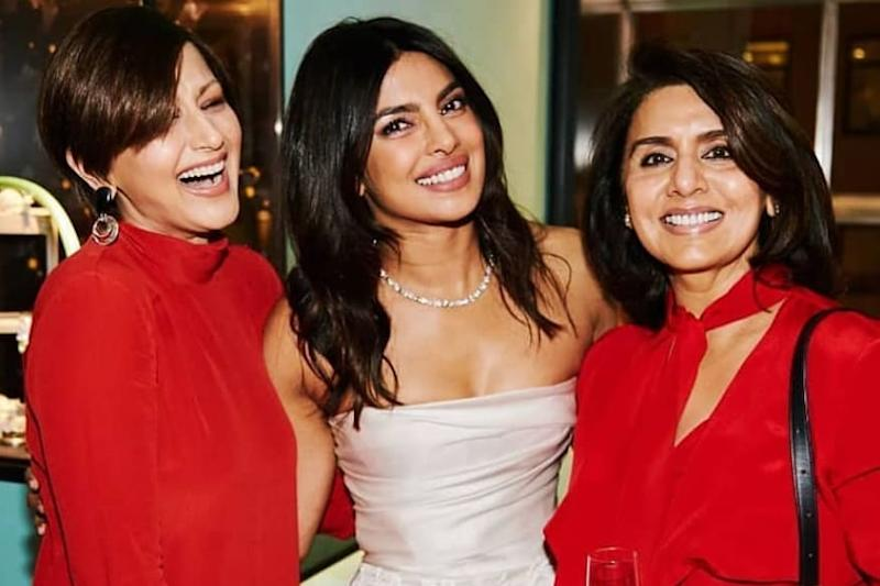 When Neetu Kapoor, Sonali Bendre Had A Blast At Priyanka Chopra's Bridal Shower