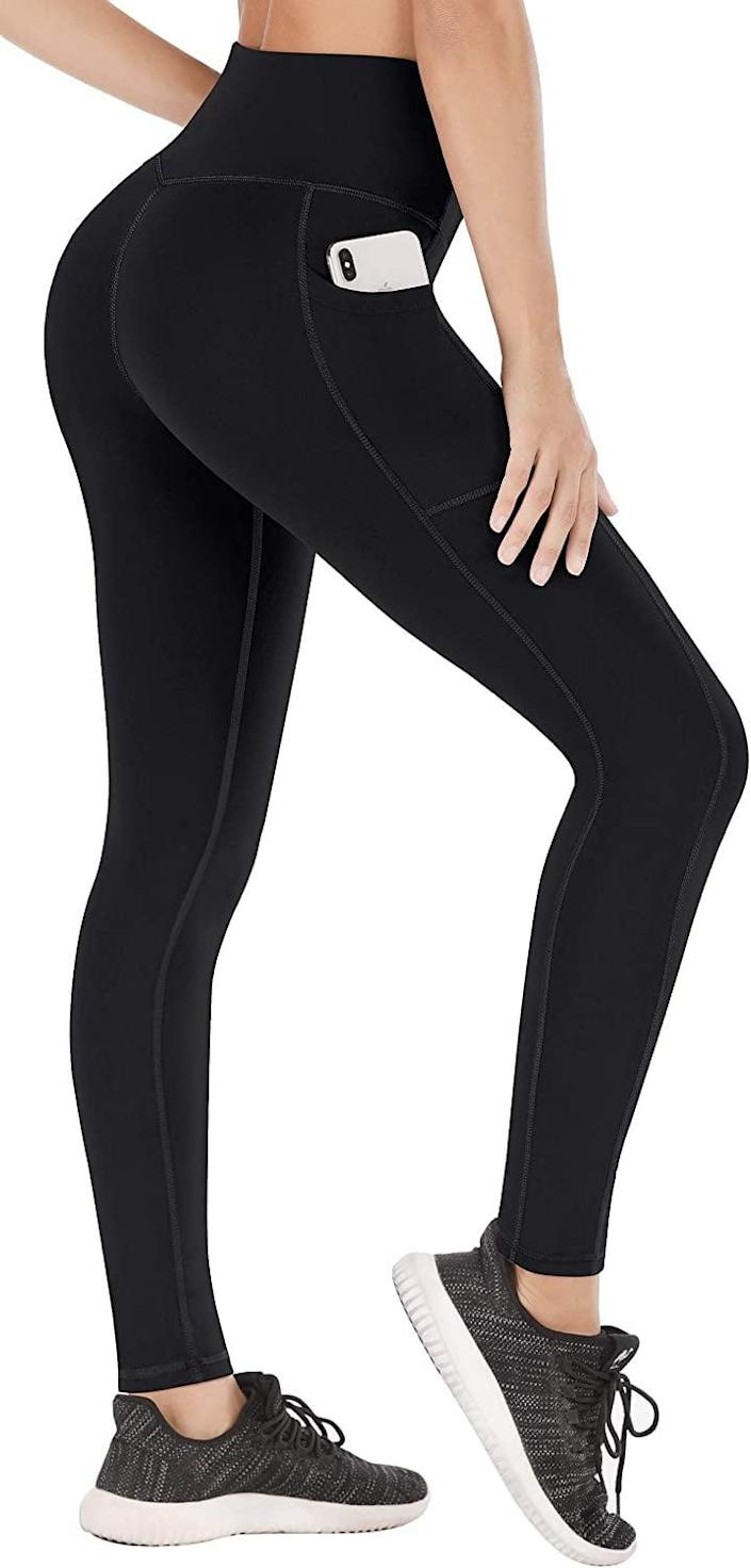 <p>Brave the cold in these brilliant <span>Heathyoga Fleece Lined Winter Leggings</span> ($28).</p>