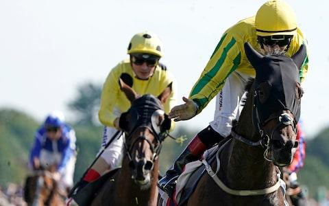 Colin Keane riding Mustajeer - Credit: GETTY IMAGES
