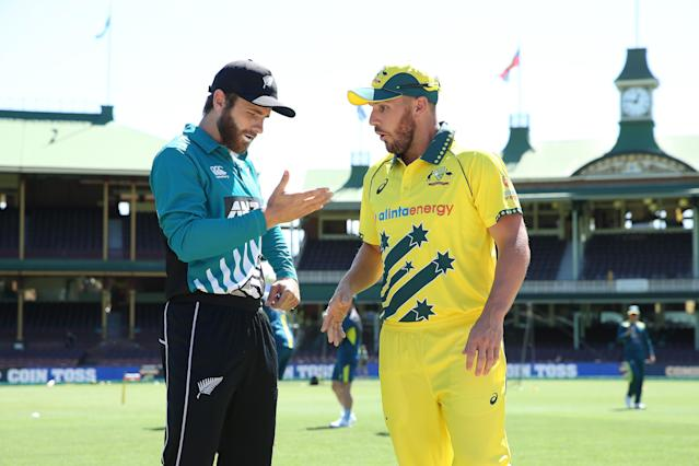 The last two games of Australia's three-match One-day series against New Zealand in Sydney and Hobart were cancelled.