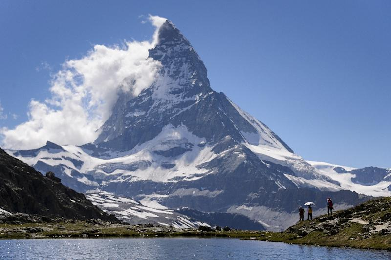 The Matterhorn is in the Alps, on the Swiss-Italian border