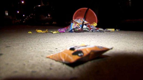 PHOTO: A 14-year-old girl and her 5-year-old brother were shot while trick-or-treating in Philadelphia, Oct. 31, 2018. (WPVI)