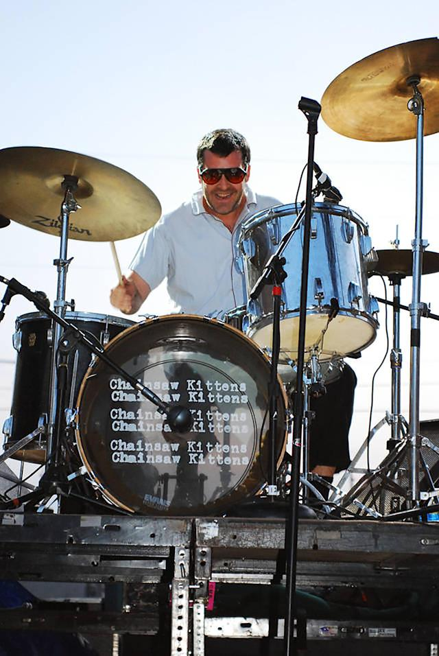 <p>Eric Harmon was the drummer of pioneering alt-rock band the Chainsaw Kittens. He died Oct. 4 of cancer at the age of 48.<br>(Photo: Chainsaw Kittens/Jason Scott) </p>