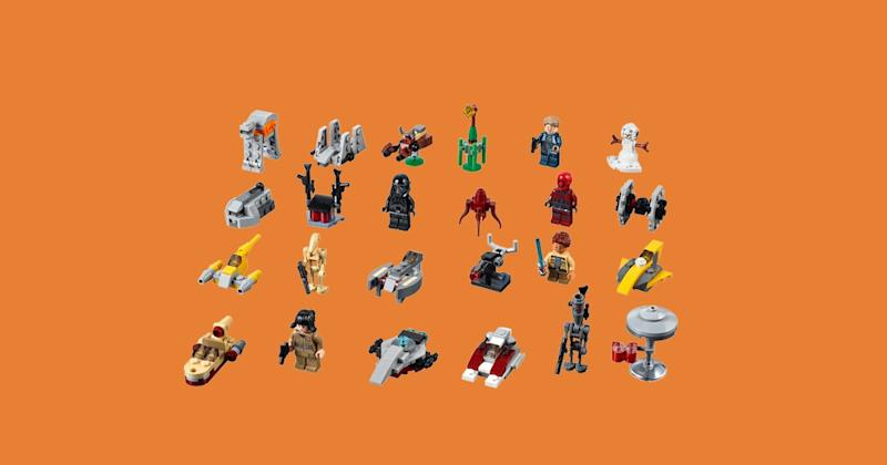 Today S Best Sales A Lego Star Wars Advent Calendar Ray