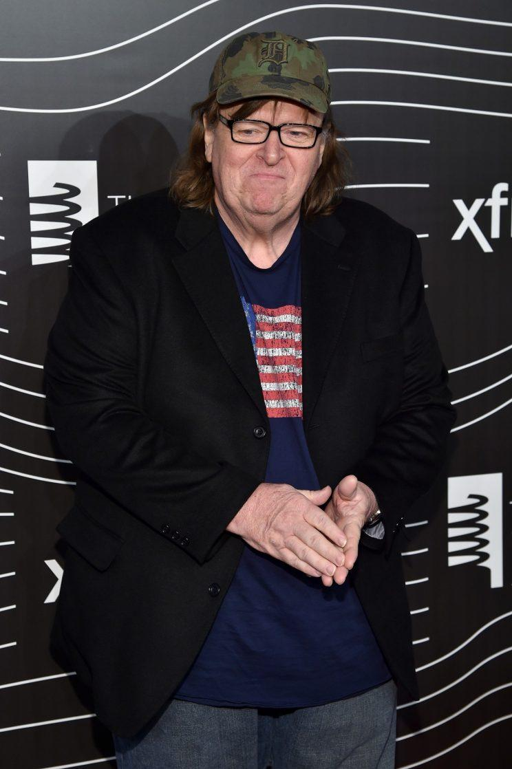 Michael Moore earlier this year (Photo: Dimitrios Kambouris/Getty Images for The Webby Awards)
