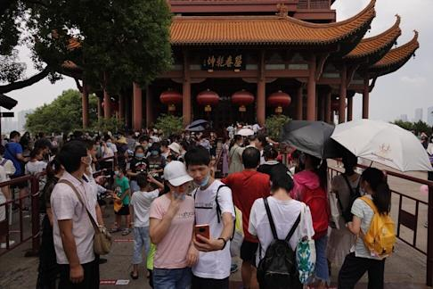 Large parts of Wuhan appear to have returned to normal, though many businesses are still struggling. Photo: Orange Wang