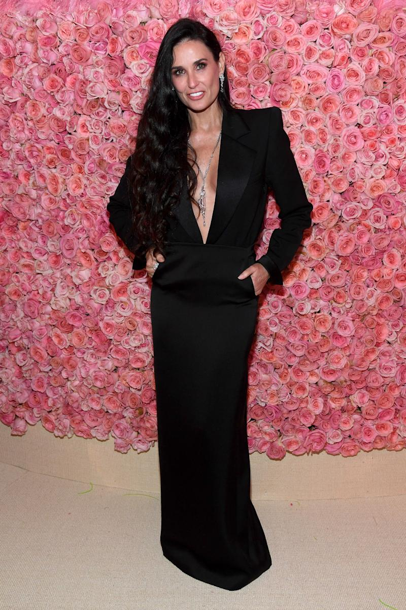Demi Moore attends The 2019 Met Gala Celebrating Camp: Notes on Fashion at Metropolitan Museum of Art on May 06, 2019 in New York City.