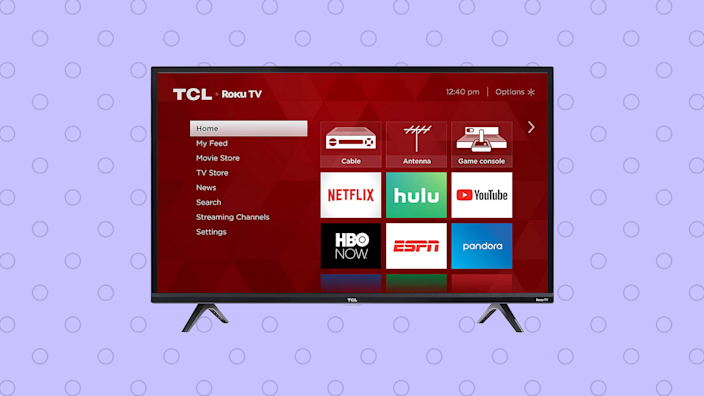 Save 44 percent—TCL 49-inch HD Smart Roku LED TV (49S325). (Photo: Amazon)