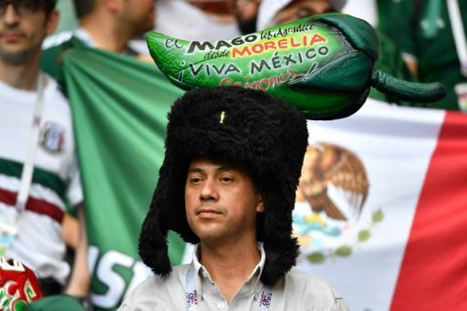 Fans from Mexico and other Latin American countries have been a highly visible presence in Russia