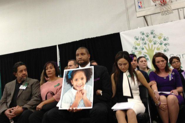 Parents of the victims of Sandy Hook school shooting