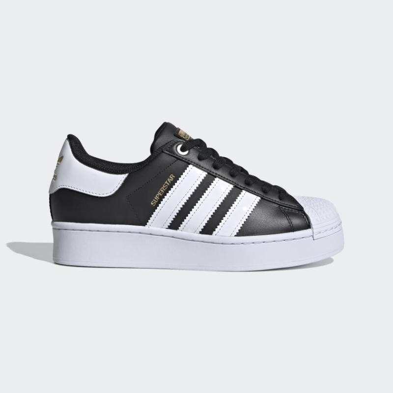 Superstar Bold Shoes in core black