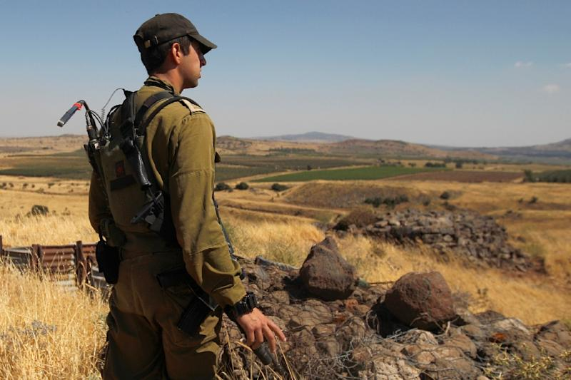 Israel Hits Syrian Artillery Sites After Projectiles Land In Golan Heights