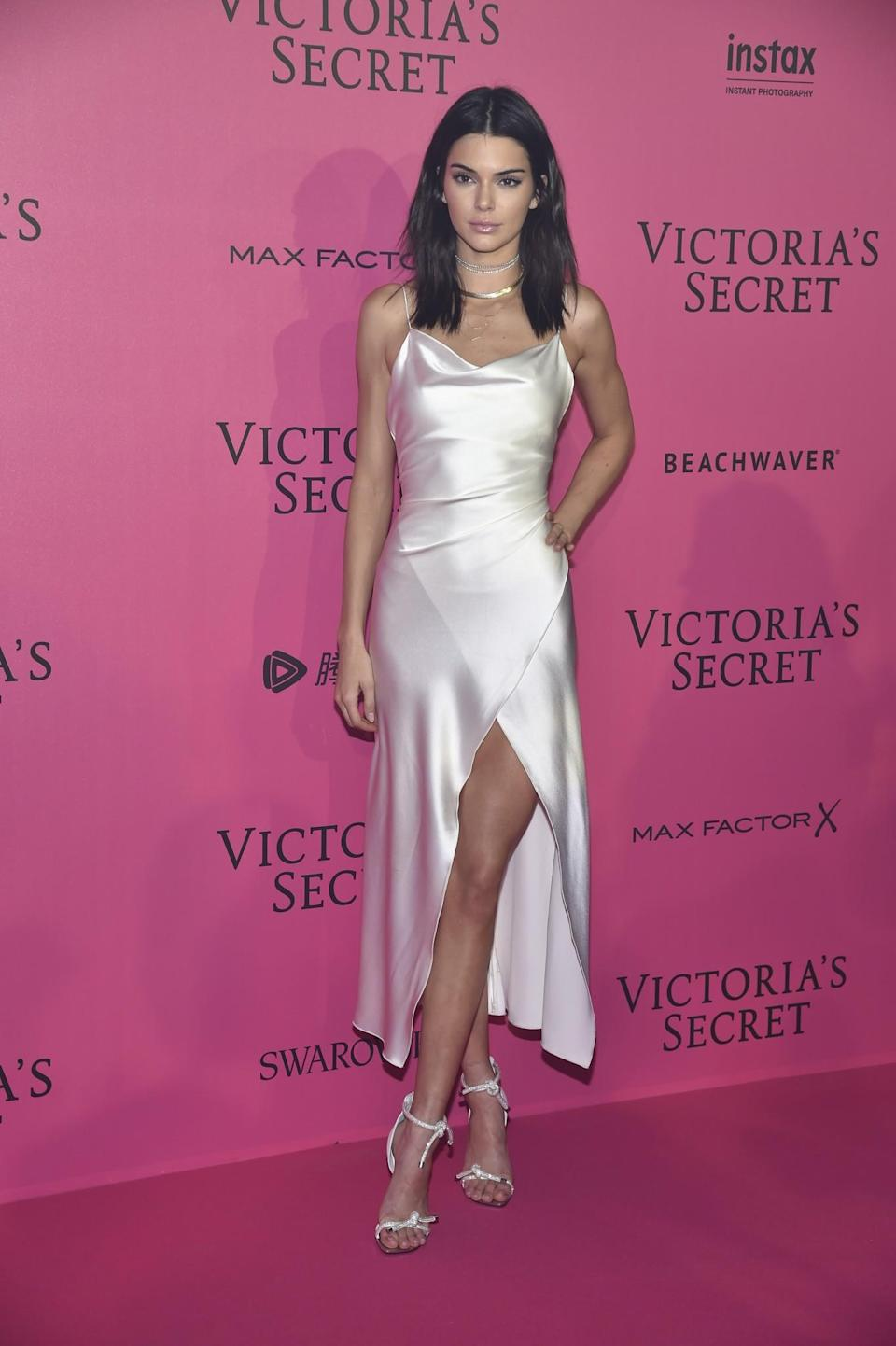 <p>A slinky slip dress like this is bang on trend at the moment – and the perfect dress to throw on for a festive party. If you're worried about being cold, layer it over a long-sleeved top and some tights. [Photo: Getty] </p>