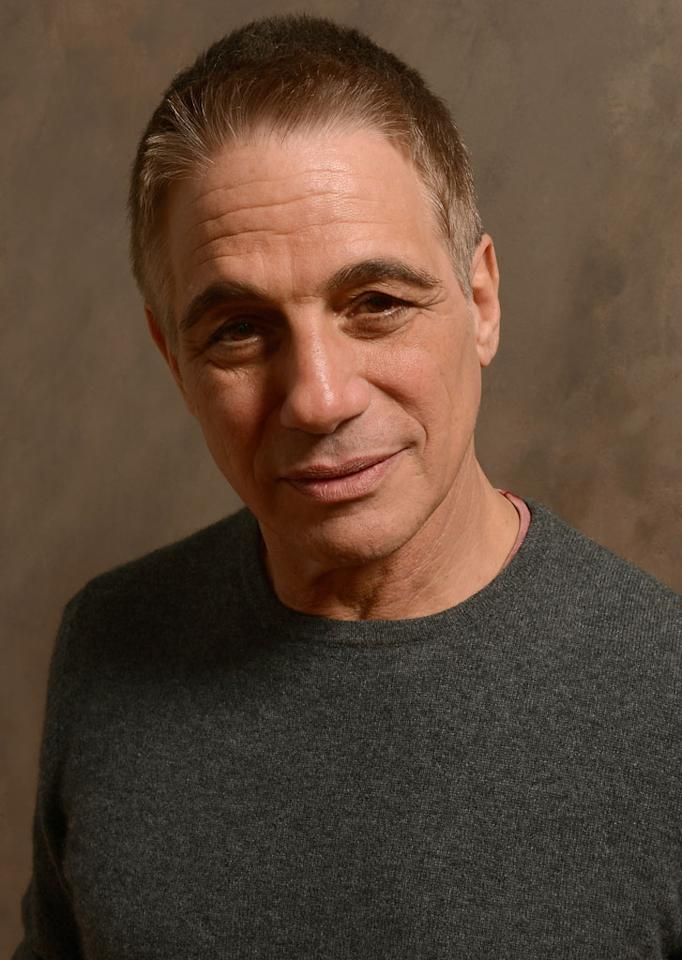 PARK CITY, UT - JANUARY 19:  Actor Tony Danza poses for a portrait during the 2013 Sundance Film Festival at the Getty Images Portrait Studio at Village at the Lift on January 19, 2013 in Park City, Utah.  (Photo by Larry Busacca/Getty Images)