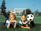 """<p><strong>Hulu's Description:</strong> """"Mary-Kate and <a class=""""link rapid-noclick-resp"""" href=""""https://www.popsugar.com/Ashley-Olsen"""" rel=""""nofollow noopener"""" target=""""_blank"""" data-ylk=""""slk:Ashley Olsen"""">Ashley Olsen</a> executive produce and star in the rousing comedy of two sisters who hatch the ultimate scheme to find out how their other half lives - by Switching Goals.""""</p> <p><span>Stream <strong>Switching Goals</strong> on Hulu!</span></p>"""