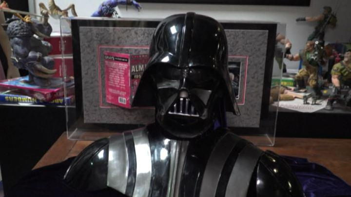 Star Wars, la maschera di Darth Vader all'asta a Hollywood
