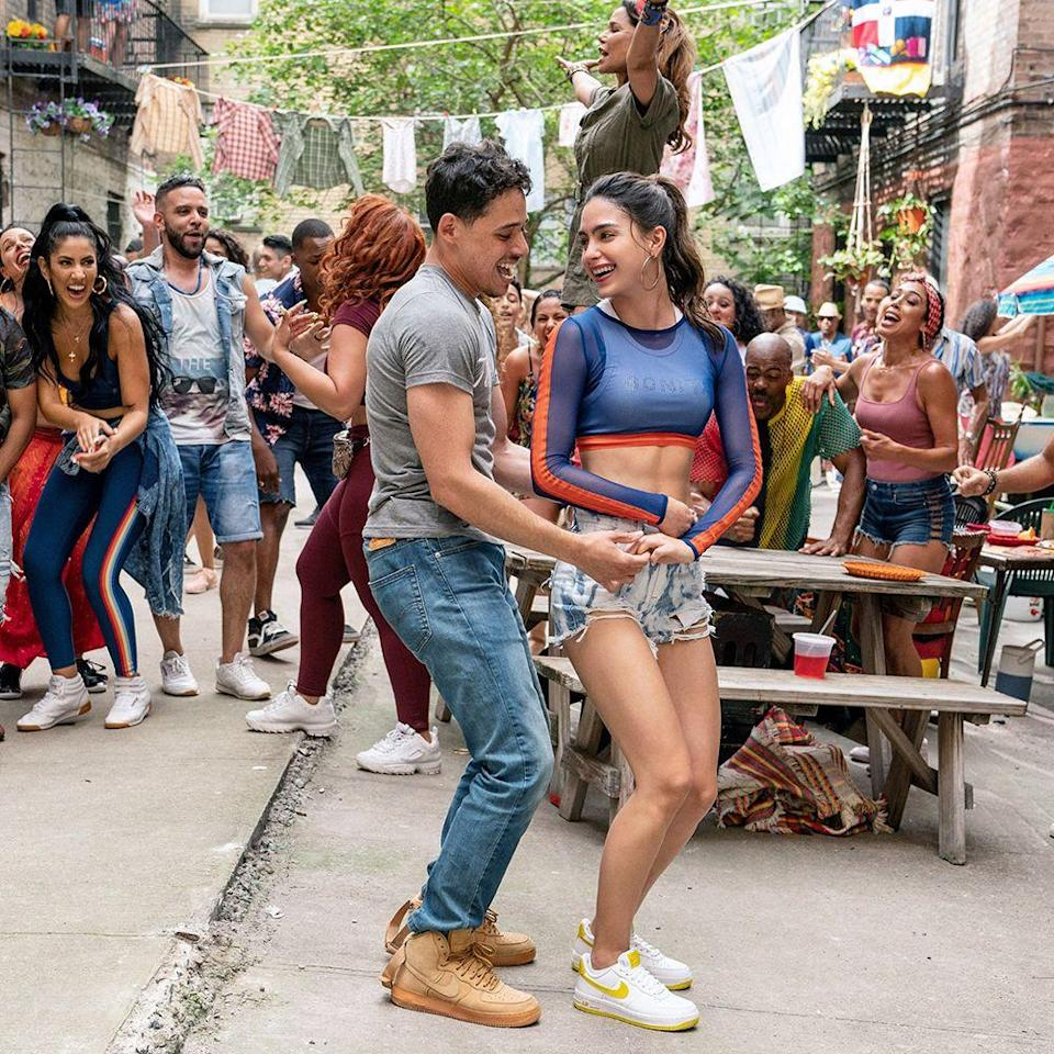 """<p>The summertime explosion of singing, dancing, and Fla-Vor-Ice from director Jon M. Chu (<em>Crazy Rich Asians</em>), playwright Quiara Alegría Hudes, and composer Lin-Manuel Miranda may be one of the most anticipated stage-to-screen adaptations ever. But the classic tale about the delight and despair of a tightknit Dominican-American neighborhood has been put on hold <a href=""""https://deadline.com/2020/04/in-the-heights-summer-2021-release-date-1202914093/"""" rel=""""nofollow noopener"""" target=""""_blank"""" data-ylk=""""slk:for a year"""" class=""""link rapid-noclick-resp"""">for a year</a>. """"I'm really hopeful that [<em>In the Heights</em> is] something we all get to watch in the theaters together,"""" Miranda said per <a href=""""https://www.broadway.com/buzz/198892/lin-manuel-miranda-on-in-the-heights-film-watching-cheer-and-the-song-that-makes-his-kids-dance/"""" rel=""""nofollow noopener"""" target=""""_blank"""" data-ylk=""""slk:Broadway Buzz"""" class=""""link rapid-noclick-resp""""><em>Broadway Buzz</em></a>, """"when it's time and we feel safe to.""""</p><p><strong>Original release date:</strong> June 26</p><p><strong>Now set for:</strong> June 18, 2021</p>"""