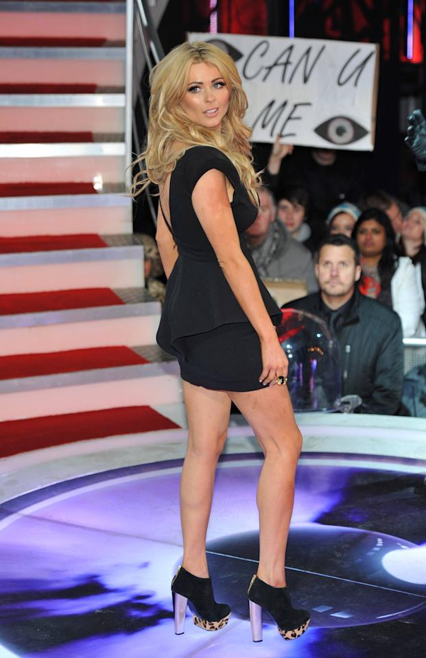 Nicola McLean C5's Celebrity Big Brother - second series starts at Elstree Studios. London, England - 05.01.12 Mandatory Credit: Daniel Deme/WENN.com