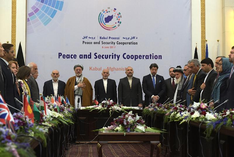 Afghanistan holds peace conference amid violence and protests