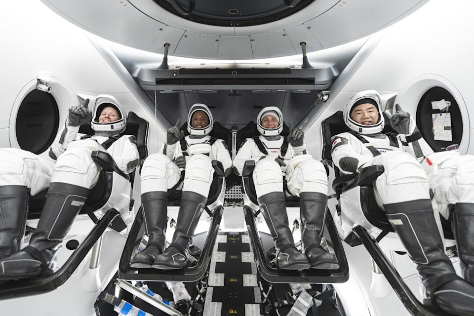SpaceX Crew Dragon Crew-1 mission