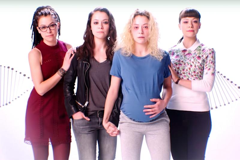 Tatiana Maslany as Cosima, Sarah, Helena, and Alison (Photo: BBC America)